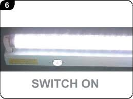 picture of how to replace a fluorescent tube with an etl approved led change fluorescent light b39