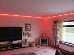 Concealed lighting ideas Cove Lighting Starscape Star Ceilings Concealed Led Tape Colour Changing Coving Lighting