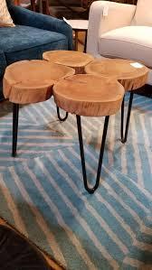 organic side table