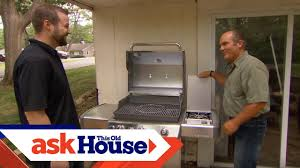 how to install a natural gas grill this old house