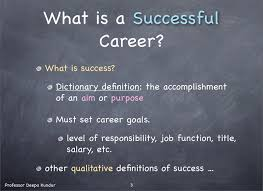 Career Success Definition Navigating For A Successful Career