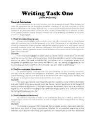 good essay conclusions writing a good essay conclusion