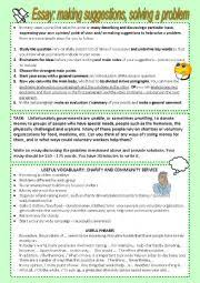 english teaching worksheets writing essays english worksheets problem solution essay