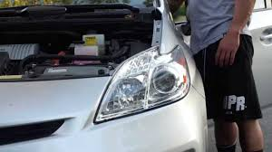Toyota Prius LED Headlight Installation - YouTube