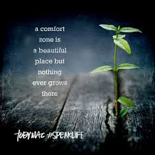 A Comfort Zone Is A Beautiful Place Quote Author Best Of Comfort Zone Inspirational Christian Blogs