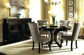 full size of ashley furniture black glass dining table porter collection room set design fascinating round
