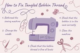 How To Fix Sewing Machine Bobbin
