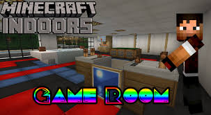 How to Build a Game Room Minecraft Indoors Interior, games for girls ...