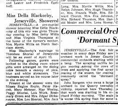 Blackorby ? wedding 1950 - Newspapers.com