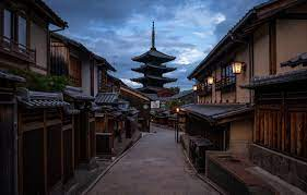 Wallpaper Japan, temple, pagoda, Kyoto ...