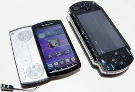 sony ericsson xperia play. sony xperia play compared to a psp ericsson