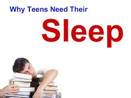 Sleep deprivation in adolescents teen
