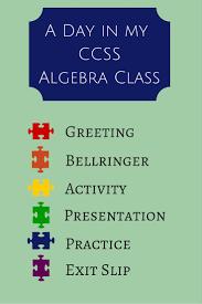 A Day In My Classroom Lesson Plan High School Math Teachers