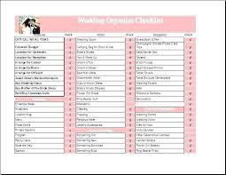 Wedding Excel Checklist Wedding Vendor Checklist Template Wedding Vendor Checklist Template