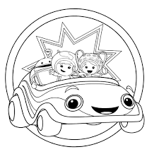 Small Picture Printable Team Umizoomi Coloring Pages Cartoon Coloring Pages