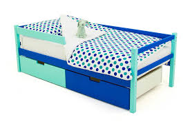 "Детская деревянная <b>кровать</b>-<b>тахта Бельмарко</b> ""<b>Skogen мятно</b> ..."