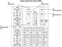 2001 ford econoline 250 fuse box diagram ford v fuse box ford 1994 ford econoline van fuse box location at Ford Econoline Fuse Box
