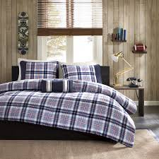 bedding twin bed forter set baby blue bedspread navy blue and