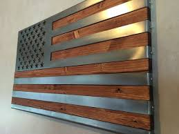 3 dimensional hand oiled pine wrapped in a folded polished us flag metal art on american flag wall art wood and metal with 3 dimensional hand oiled pine wrapped in a folded pinterest