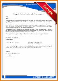 Unique Employer Resignation Lettero Employee Notice Lovely From