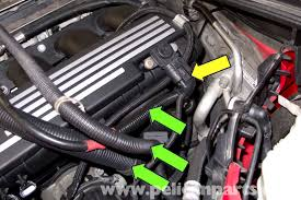 bmw e90 intake manifold replacement e91 e92 e93 pelican pull wiring harnesses and battery cable out of rubber holders