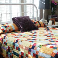 Queen Size Quilt Patterns Gorgeous Sunny Squares Easy Batik Queen Size Quilt Pattern The Quilting
