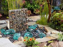 how to build a rock water fountain diy rock water feature