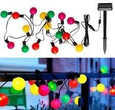 ikea solar lighting. ikea solvinden solarpowered outdoor lighting lantern string chain 16 globes multicolor ikea solar