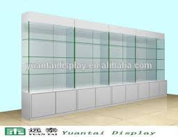 glass wall display cabinet. Wonderful Display Free Standing White Wooden Glass Wall Display Storage Cabinet For Retail  Store In Glass Wall Display Cabinet A