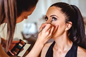 student at makeup in new york city