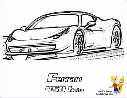 Ferrari Coloring Book Wonderfully Ferrari Colouring Pages Fxx