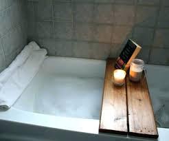 teak bathtub caddy bath australia wood tray