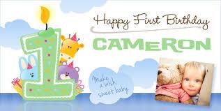 1st birthday banner custom birthday banners personalized happy birthday banners free
