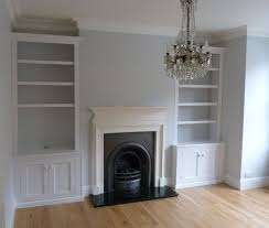 here s how this part of the room could look with built in cupboards below