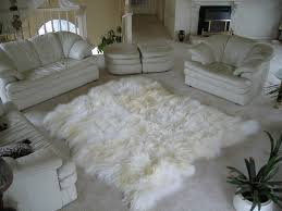 icelandic longhaired sheepskin rugs