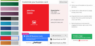 Best Free Online Tools To Create Professional Business Cards