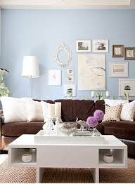 brown couch white coffee table