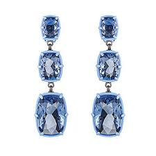atelier swarovski by rosie assoulin jewel y mchue y chandelier pierced earrings swarovski
