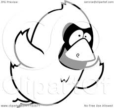 Small Picture Cartoon Birds Flying In A Line Coloring Coloring Pages