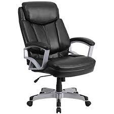 flash furniture hercules series big tall 500 lb rated black leather executive swivel chair