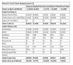12 Month Cash Flow Cash Flow Projection For 3 Years See Cash Flow Projection