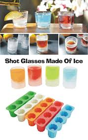 2019 4 cups silicone ice mold tray ice shot glass mold square cube baking mold ice cube maker from shunhuico 2 43 dhgate com