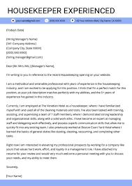 Housekeeping Job Description For Resume Housekeeper Resume