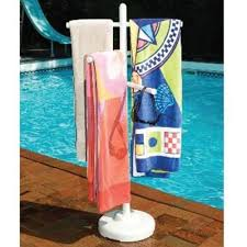 hot tub miscellaneous pvc outdoor spa and pool towel rack htcp4300