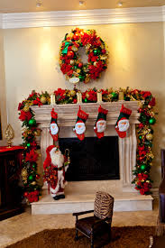 Delightful Home Fireplace Christmas Design Ideas Introduce ...