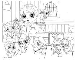 Cute Littlest Pet Shop Coloring Pages Coloring Pages Photo Shared By