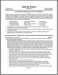 Sample Of Office Manager Resume – Lespa