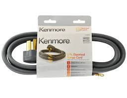 gas and electric stove parts range accessories sears kenmore 49695 3 prong 5 round gray range cord
