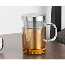 gl tea mug with stainless steel