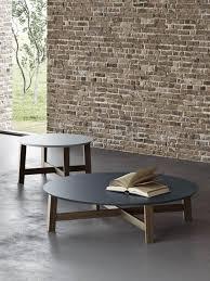 evan round coffee table